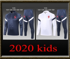 2020 France Kids Training clothes