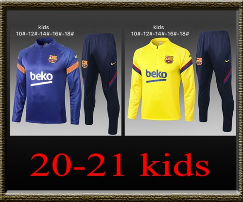 2020-2021 Barcelona Kids Training clothes