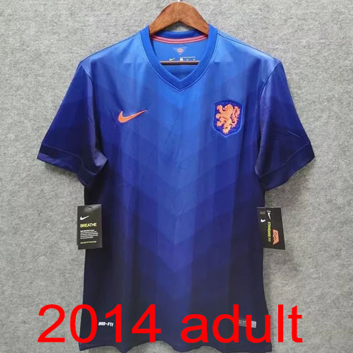 2014 Netherlands Away jersey Thailand the best quality