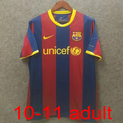 2010-2011 Barcelona Home jersey Thailand the best quality