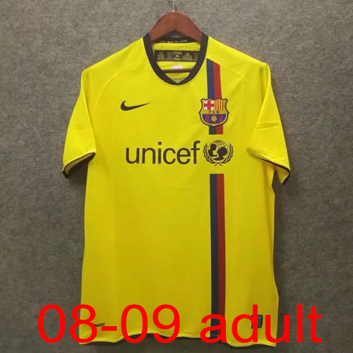 2008-2009 Barcelona Away jersey Thailand the best quality