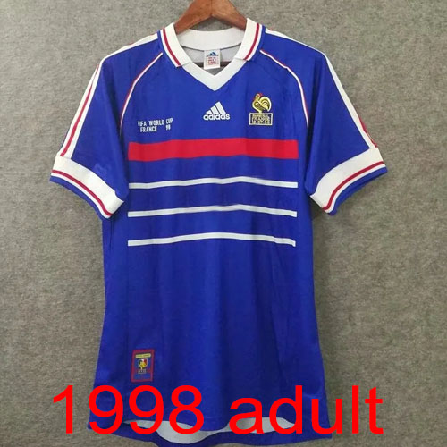 1998 France Home jersey Thailand the best quality