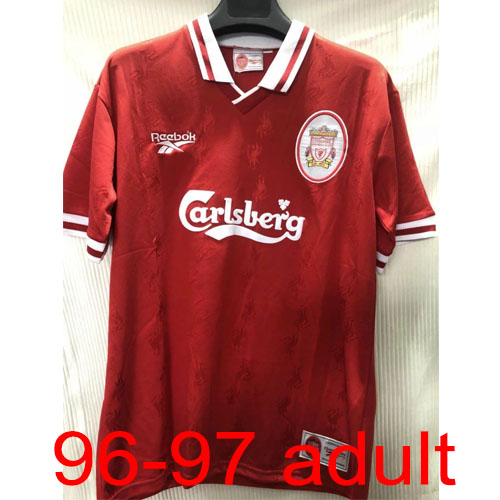 1996-1997 Liverpool Home jersey Thailand the best quality