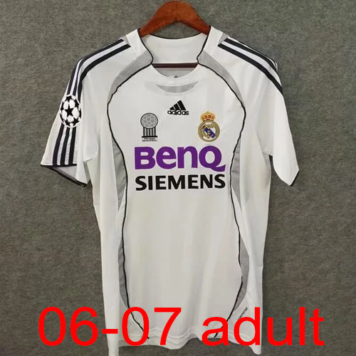 2006-2007 Real Madrid Home jersey Thailand the best quality