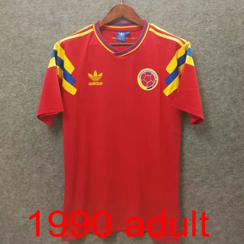 1990 Colombia Away jersey Thailand the best quality