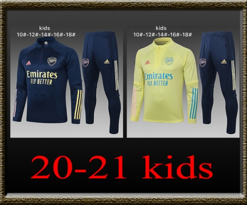 2020-2021 Arsenal Kids Training clothes