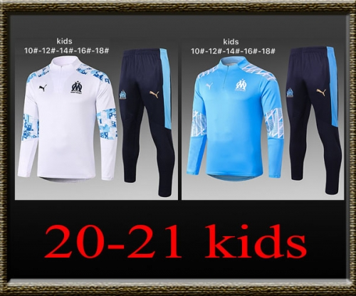 2020-2021 Marseille Kids Training clothes