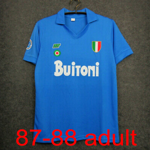 1987-1988 Napoli Home jersey Thailand the best quality