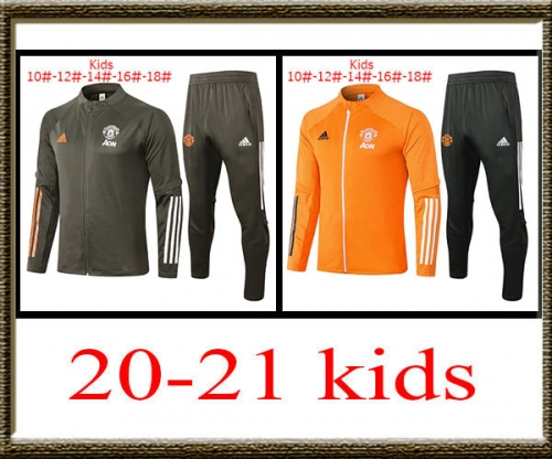 2020-2021 Manchester United kids jacket best quality