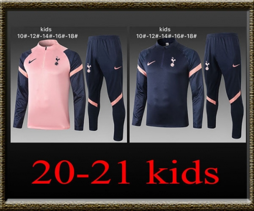 2020-2021 Tottenham Kids Training clothes
