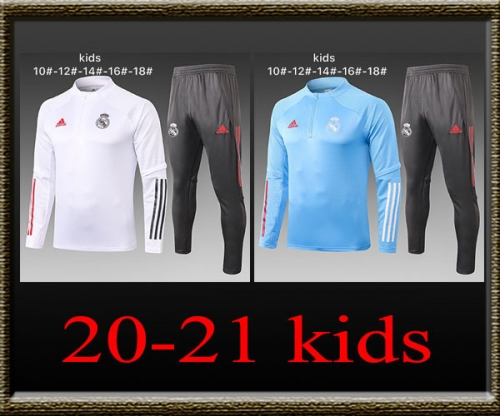 2020-2021 Real Madrid Kids Training clothes