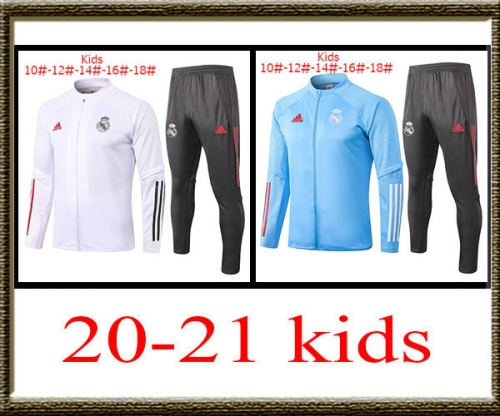2020-2021 Real Madrid kids jacket best quality