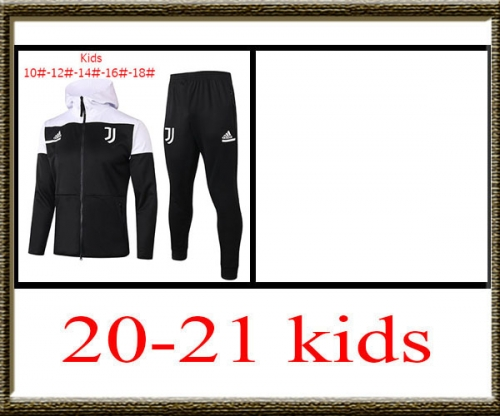 2020-2021 Juventus Kids + hat jacket best quality
