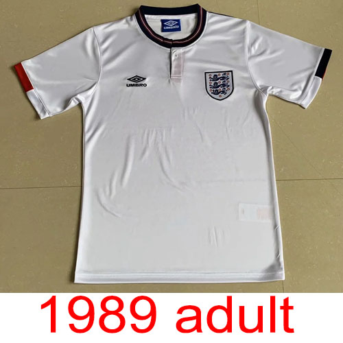1989 England Home jersey Thailand the best quality