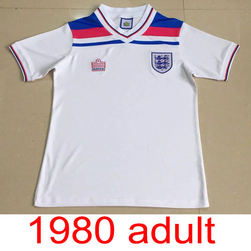 1980 England Home jersey Thailand the best quality