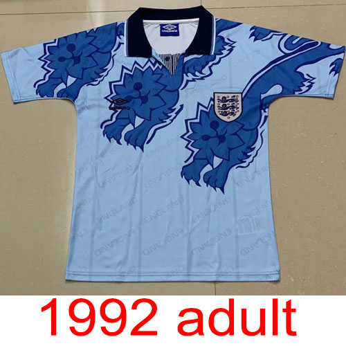 1992 England Third Kit jersey Thailand the best quality