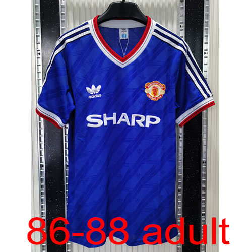 1986-1988 Manchester United Third Kit jersey Thailand the best quality