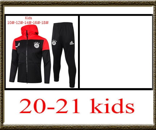 2020-2021 Bayern Kids + hat jacket best quality