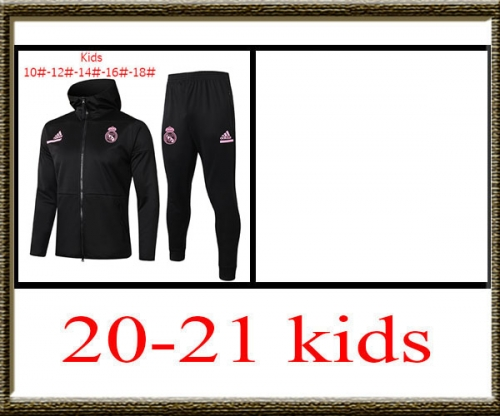 2020-2021 Real Madrid Kids + hat jacket best quality