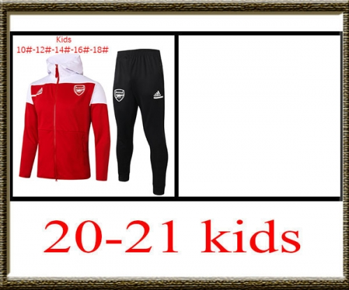 2020-2021 Arsenal Kids + hat jacket best quality