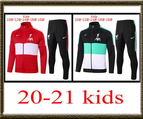 2020-2021 Liverpool kids jacket best quality