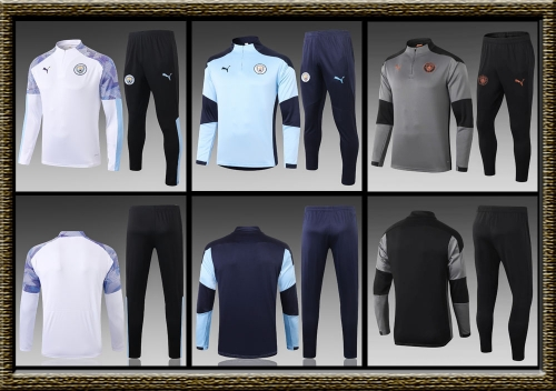 2020-2021 Manchester City adult Training clothes