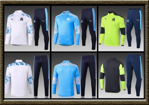 2020-2021 Marseille adult Training clothes