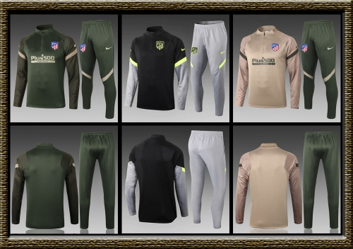 2020-2021 Atletico Madrid adult Training clothes