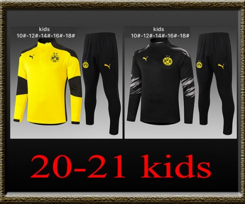 2020-2021 Dortmund Kids Training clothes