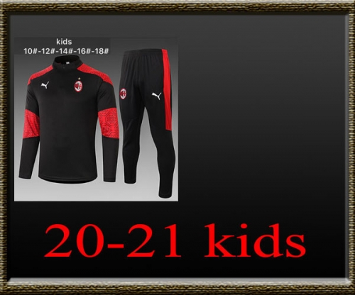 2020-2021 AC Milan Kids Training clothes