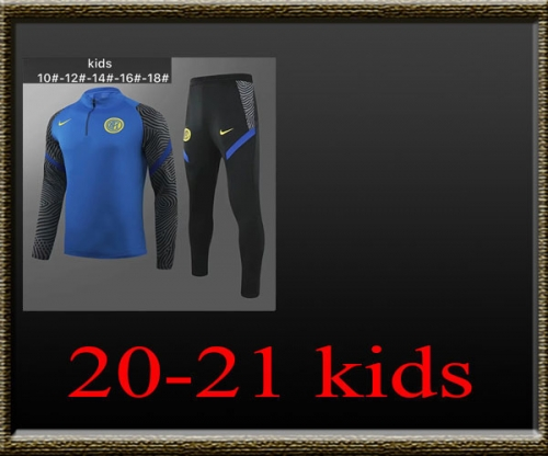 2020-2021 Inter Milan Kids Training clothe