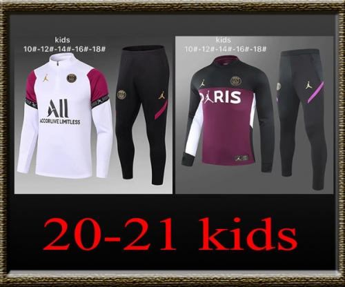 2020-2021 PSG Kids Training clothes